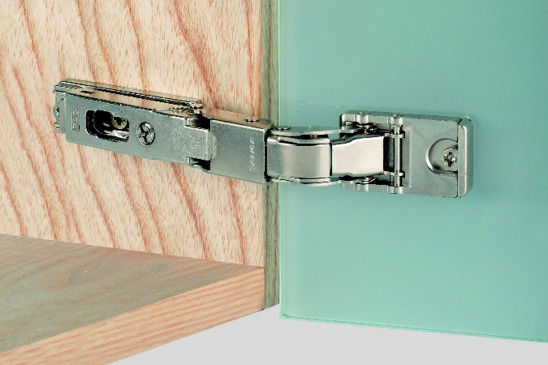 Hafele 32943500 Concealed Hinge 110 Opening Angle For Glass