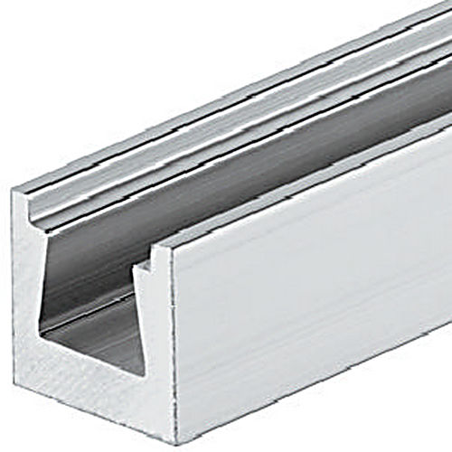 Hafele 261.30.030 Dovetail Connector Rail, Aluminum Natural