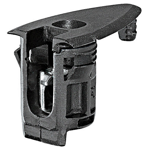 Hafele 263.18.302 HC Connector, Plastic Black