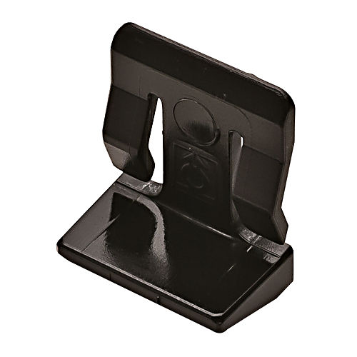 Hafele 282.33.301 Shelf Support with Clip, Plastic Black