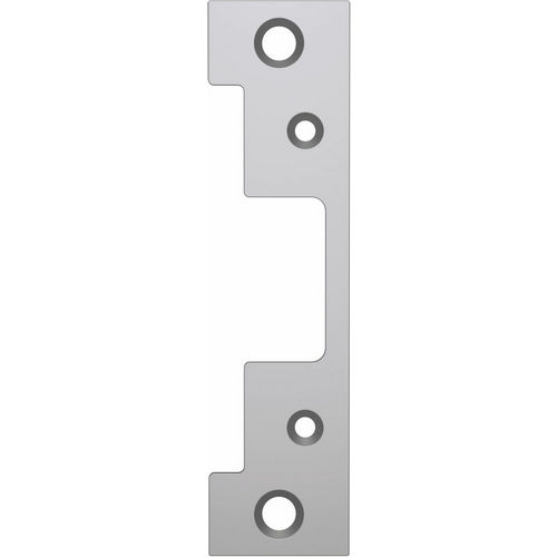 HES 501-630 Electric Strike Faceplate ANSI, Satin Stainless Steel