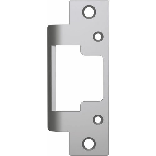 HES 801A-630 Faceplate with Radius Corners for 8000/8300 Series, Satin Stainless Steel