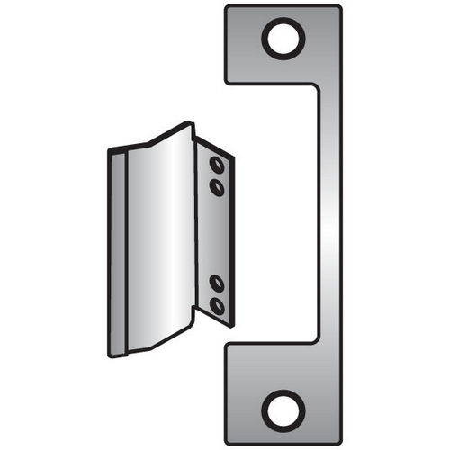 HES AM-630 Faceplate for 1006 Series Electric Strike, Satin Stainless Steel