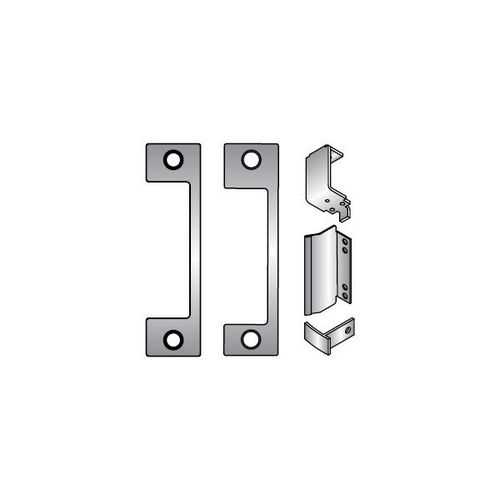 HES DB-630 Faceplate Kit, Satin Stainless Steel