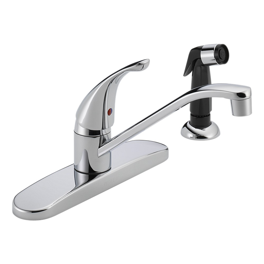 Peerless P115lf Ss Single Handle Kitchen Faucet