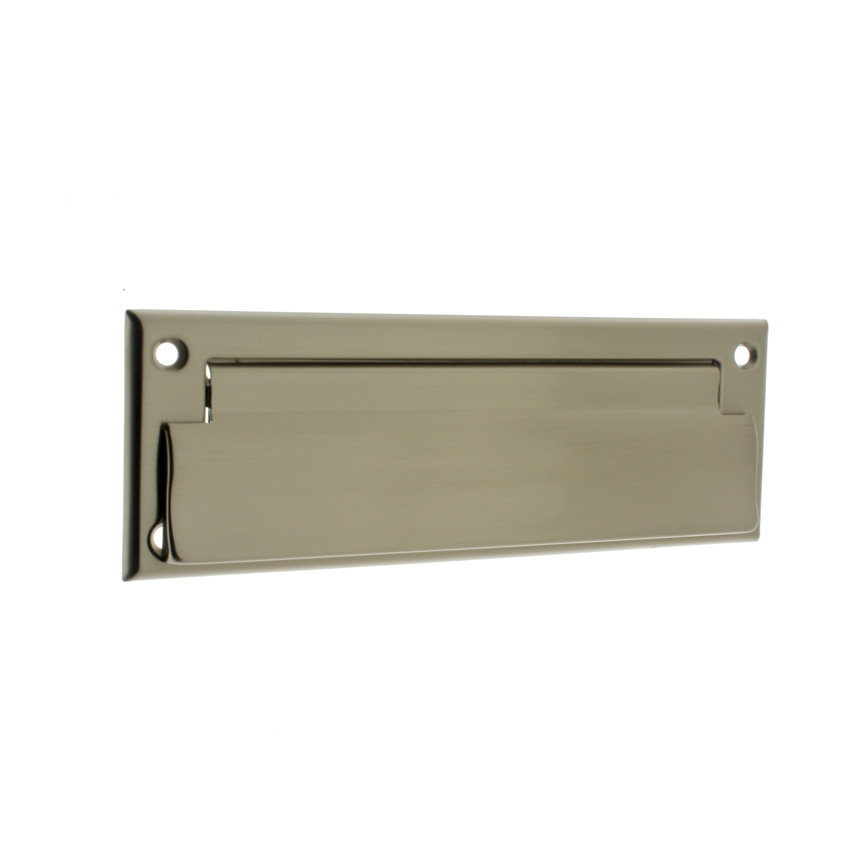 Idh 22111 015 Letter Mail Plate Front Only Satin Nickel