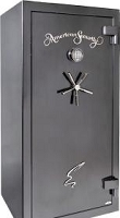 American Security Products SF6032LN-F-GM-A-ESL10 20 Gun Safe 60 Min Fire
