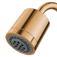 Kingston Brass KX8612 Concord PVC 2 Function Shower Head, Polished Brass Concord