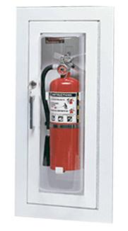 Larsen S C2409r Cameo Series Fire Extinguisher Cabinet