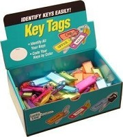 Lucky Line 10100 Id Key Tag Ball Chain Assorted 100 per Box