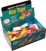 Lucky Line 12300 Id Tag Tang Ring Assorted 100 per Box