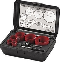 M.K. Morse AV02L Locksmith Hole Saw Kit