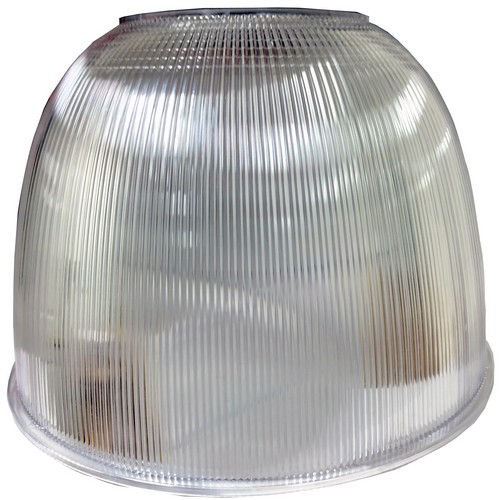 """Led High Bay Prismatic Reflector: Morris 71508 Low LED Classic Low-Bay 16"""" Polycarbonate"""