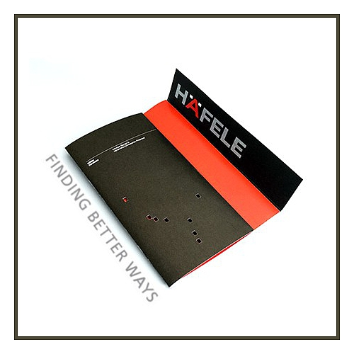 Hafele 940.80.035 Track fixing block, For Hawa Junior 80 wall pocket solution