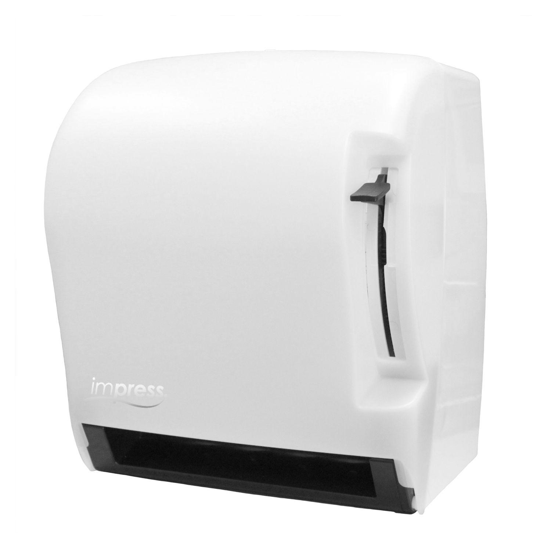 Palmer fixture td0220 03 impress lever roll towel for Home bathroom towel dispenser