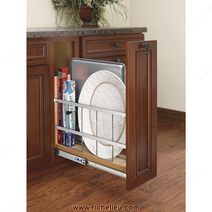 Richelieu 447bcbbsc5c Pull Out Base Cabinet Organizer