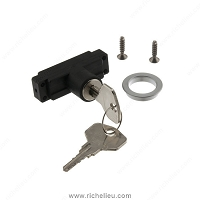 Richelieu 891917190 Cylinder Rosette Module and Two Keys