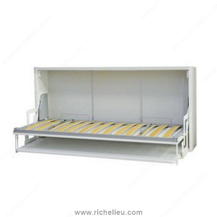 Horizontal Folding Beds : Richelieu webkit tandem horizontal folding bed with