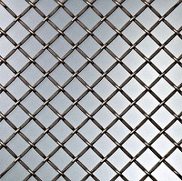 Richelieu 8121446BORB Decorative Wire Mesh, Brushed Oil-Rubbed Bronze