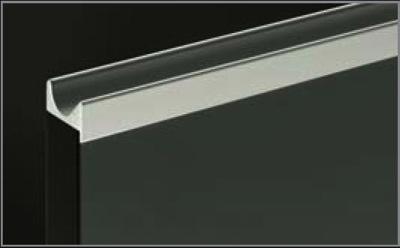Richelieu 329012140 finger grip pull handle for 58 panel richelieu 329012140 finger grip pull handle for 58 panel anodized aluminum sciox Images