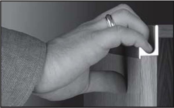 Richelieu 31881210 handle j shape for 58 panel anodized richelieu 31881210 handle j shape for 58 panel anodized aluminum sciox Images