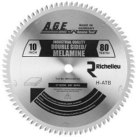 Richelieu ATMD10803 Double-Face Melamine Saw Blade