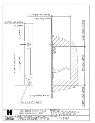 richelieu 899882130 recessed handle for sliding door builderssale Decorative Pocket Door Pulls image