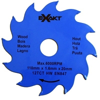 Richelieu 912112TCT Saw Blade 110 mm x 12 Teeth
