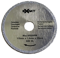 Richelieu 9121G50 Saw Blade 110mm - Diamond 50 Grit
