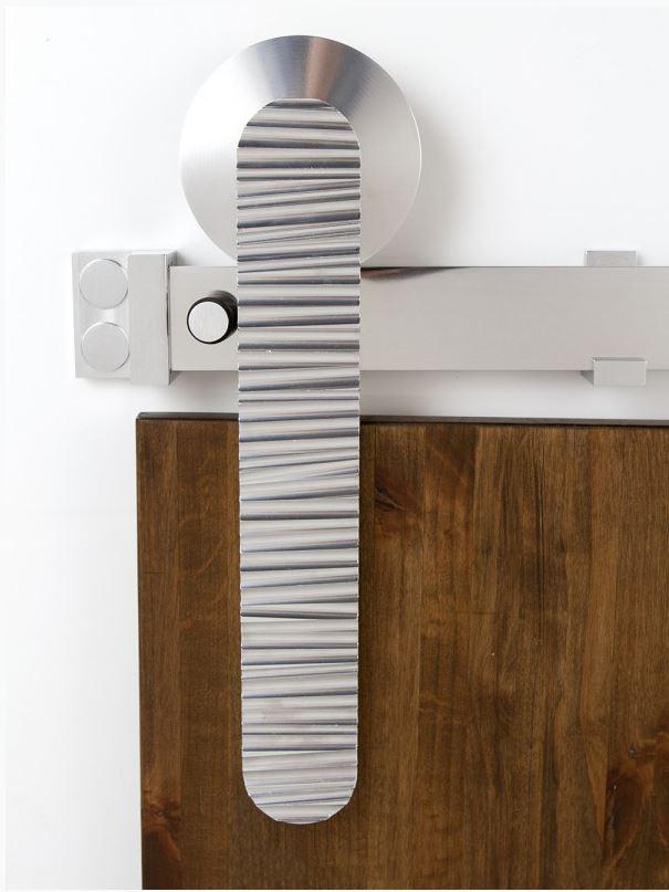 Rustica Hardware Australia: Rustica Ripple Barn Door Hardware