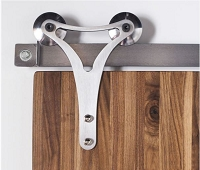 Rustica Triangle Contour Barn Door Hardware