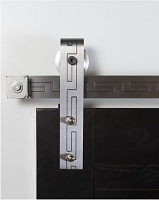 Rustica Texture Series - Aztec Barn Door Hardware