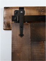 Rustica Mini Kingship Barn Door Hardware