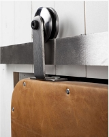 Rustica Top Mount Modern Barn Door Hardware