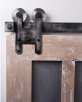 Rustica H Strap Barn Door Hardware