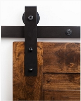 Rustica Industrial Stag Barn Door Hardware