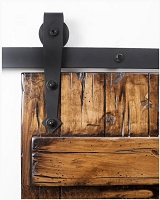 Rustica Arrow Kingship Barn Door Hardware