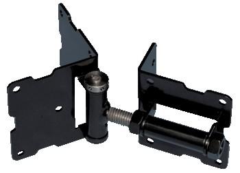 Snug Cottage 8100 B316 Black Adjustable Self Closing Hinge