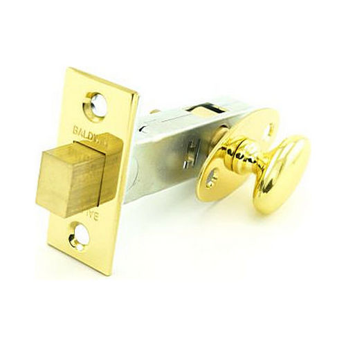 Baldwin 0419030 Mortise Door Bolt Bright Brass Finish