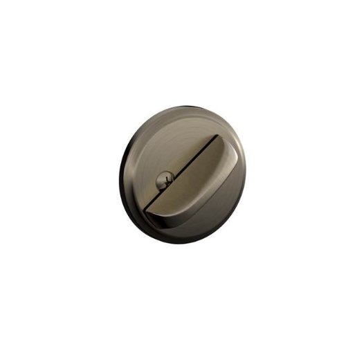 Schlage Re B81620 One Sided Dead Bolt With Exterior Plate