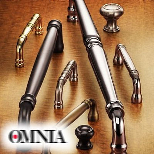 Omnia 4297.SB Flush Pull Shaded Bronze Finish