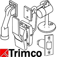 Trimco 1074-2C Barn Door Mortise, Special Finish