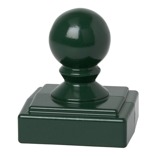 Whitehall 15938 Ball Finial, Green