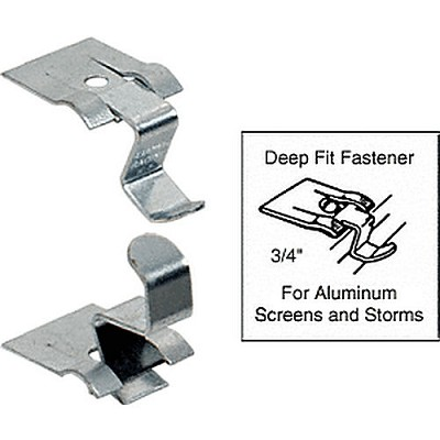 "CRL D435 Ludwig 3/4"" Deep Fit Screen and Storm Window Snap Fastener"