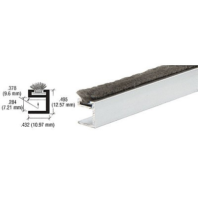 "CRL D632A 1/2"" Wide Dust Proof Wiper"