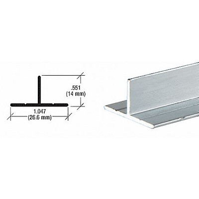 CRL D608A T Bar Channel