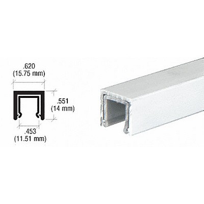 CRL D611A Dust Proof Single Channel with Plastic Insert