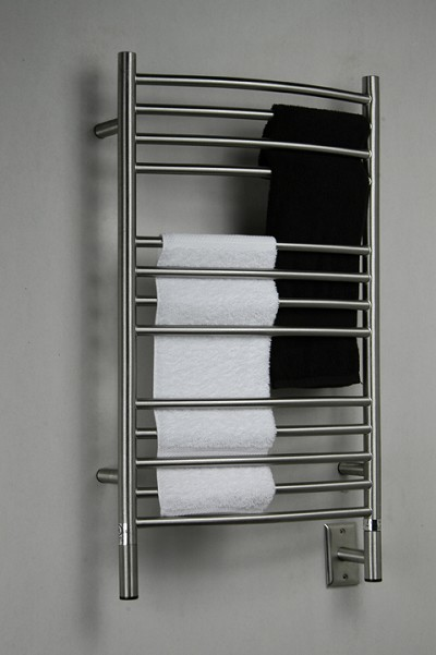"Amba Products CCB-20 C Curved Towel Warmer 20-1/2"", Brushed"