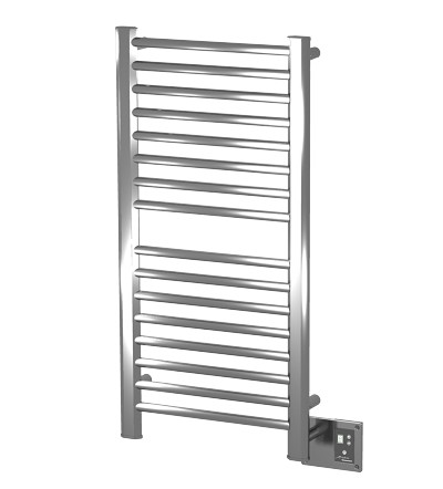 "Amba Products S-2142 Towel Warmer 21-1/2"", Brushed"