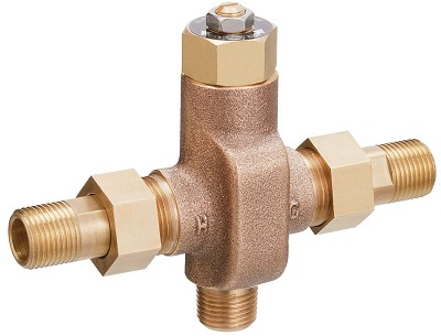 Bradley S59-4008 Thermostatic Valve for Faucet 8 GPM